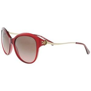 Coach Cat Eye Style Brown Rose Gradient Lens